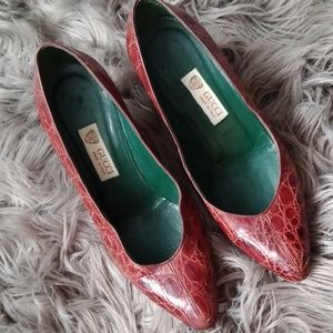 Gucci vintage heels